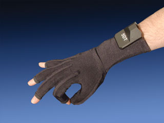 5DT Data Glove Virtual Realities